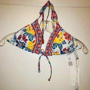 NWT Adorable Lucky Bikini Top SzM